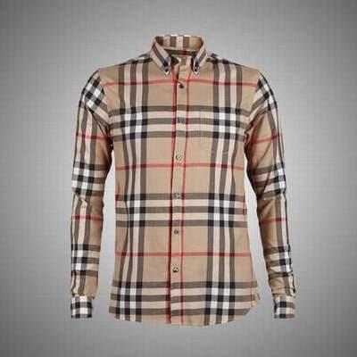 chemises hommes col mao chemise burberry manche longue. Black Bedroom Furniture Sets. Home Design Ideas